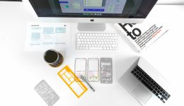 Remote product design tools on a desk